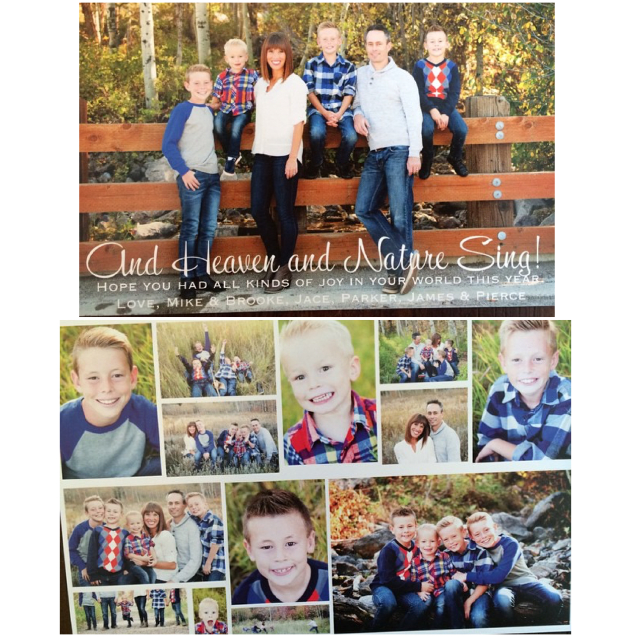100 Personalized, Photo Christmas Cards for $60! | Brooke Romney Writes
