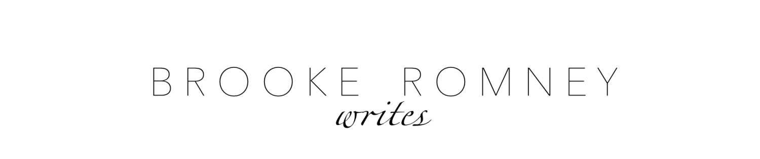 Brooke Romney Writes