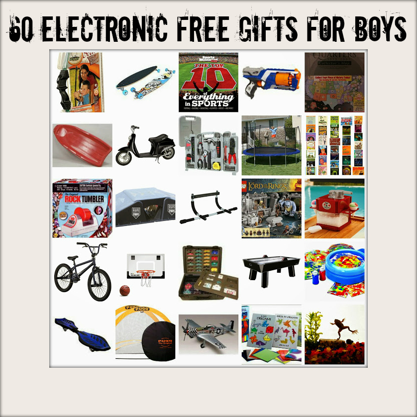 60 + Great Gifts for Boys (Electronic Free!) | Brooke Romney Writes