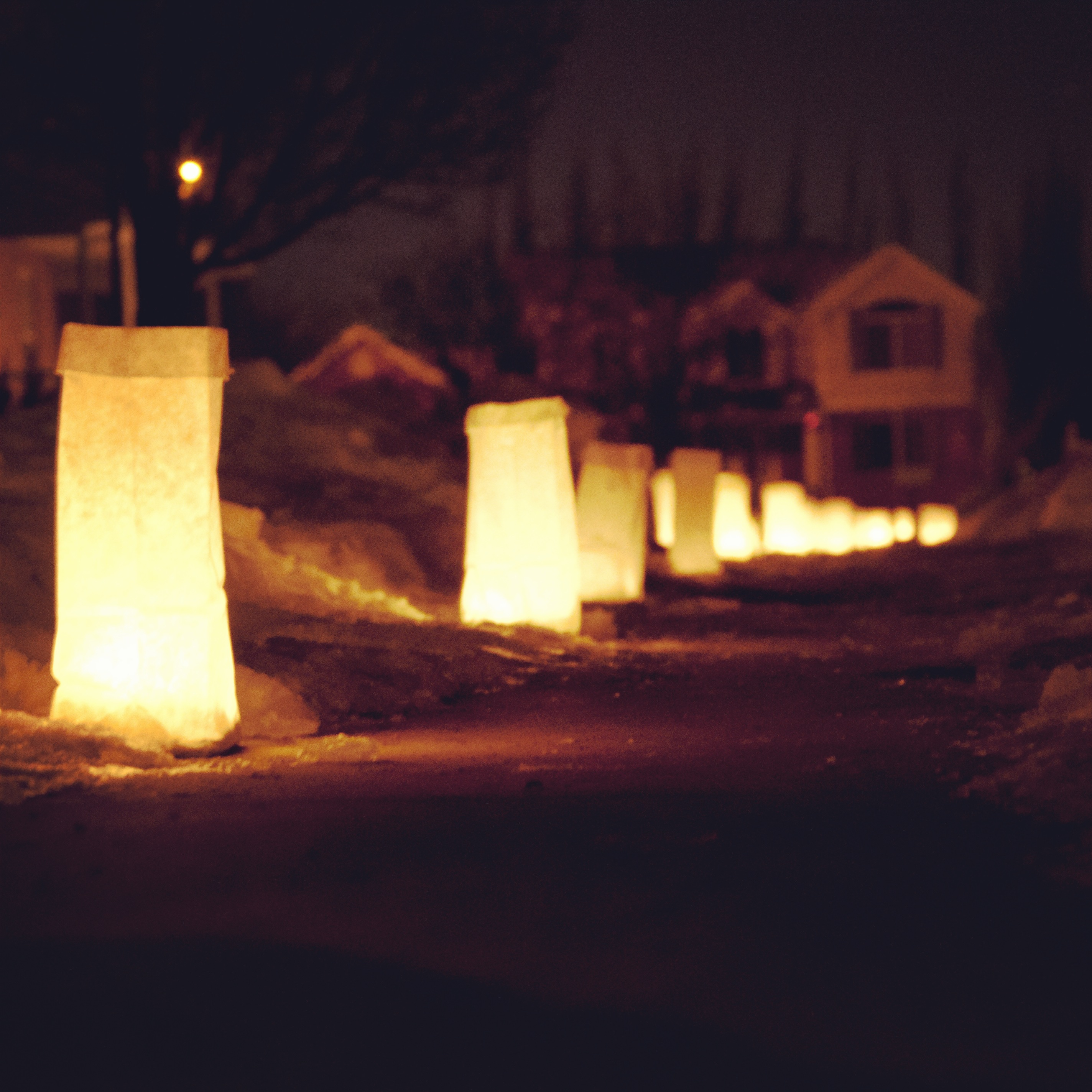 Bags 8 Size From Carpenter Paper And The Candles Are 10 Hour Votive Quickcandle Sand Is Staker Parson On Beck Street