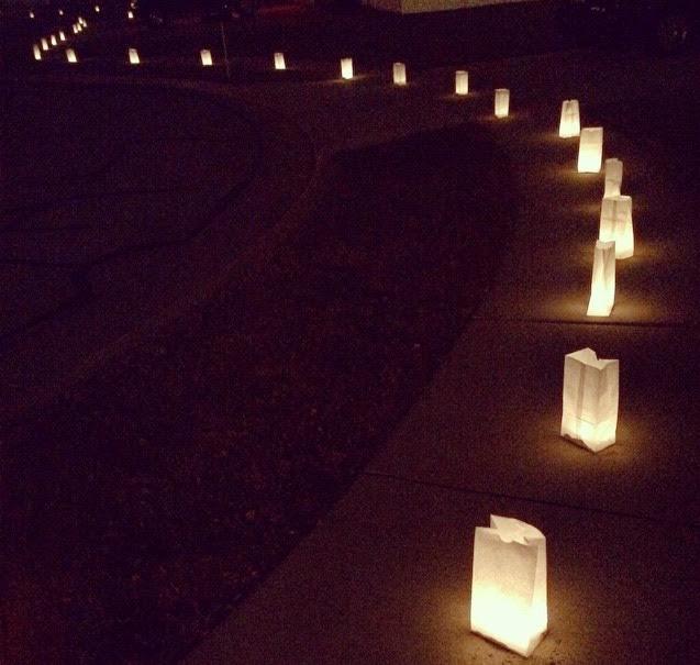 Christmas Tradition: Luminaries | Brooke Romney Writes