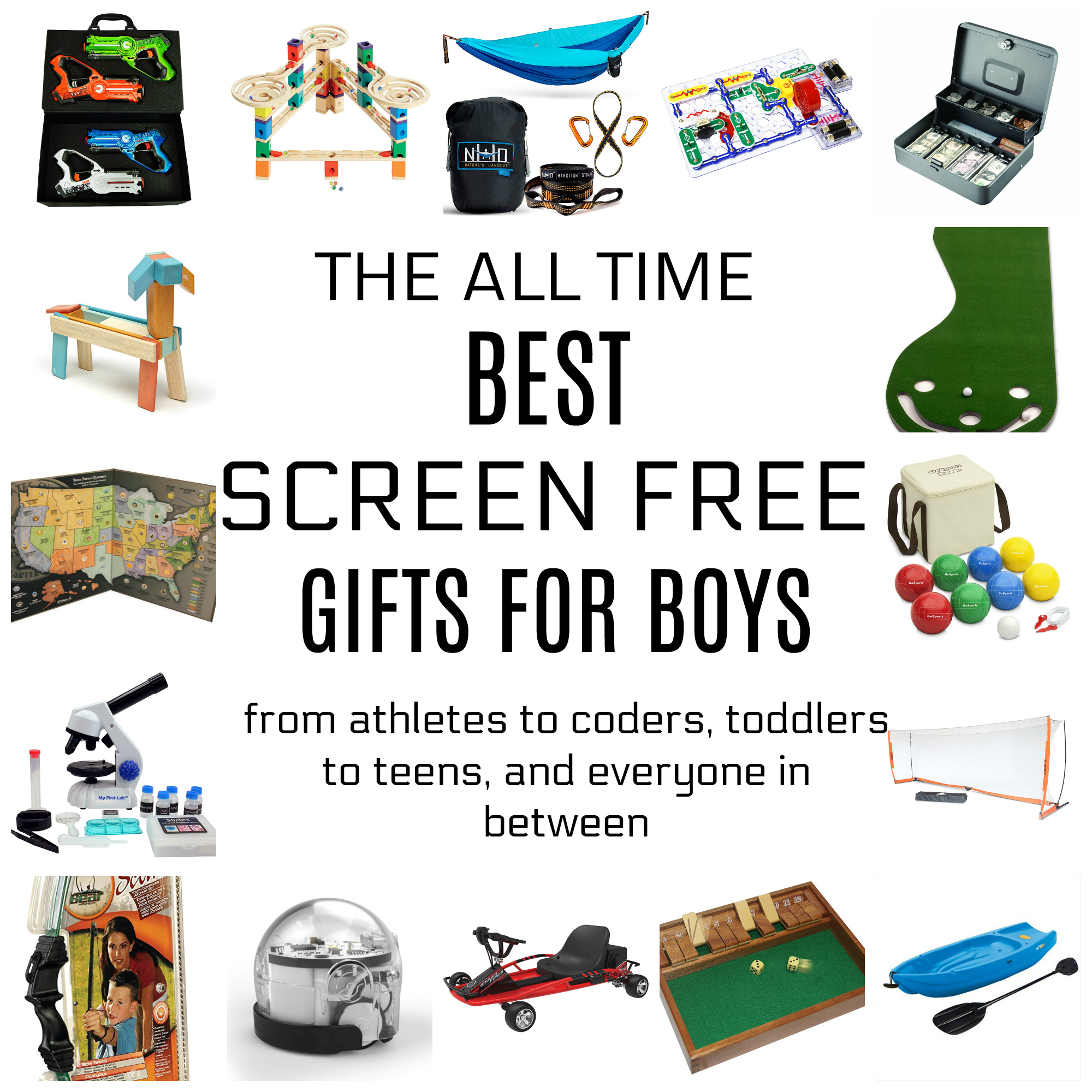 The All Time Best Best Screen Free Gifts for Boys! | Brooke Romney ...