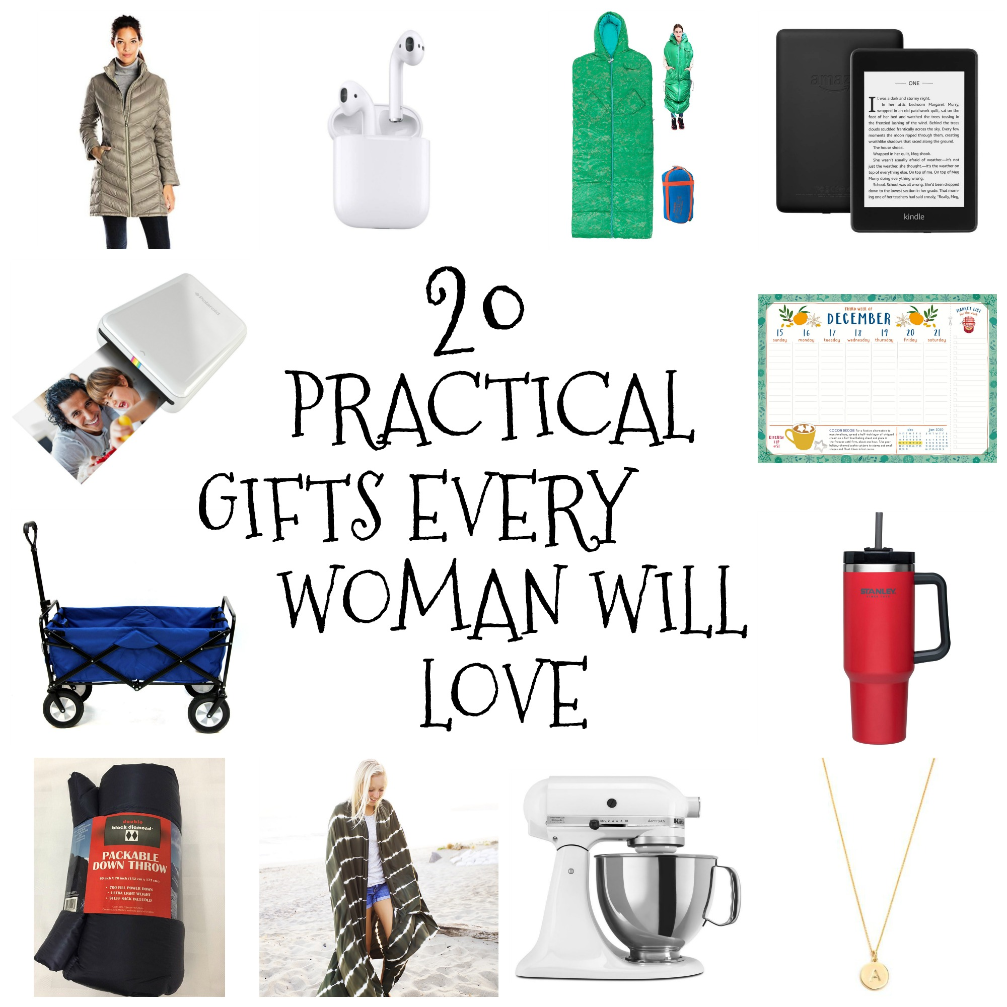 20 Practical Gifts Every Woman will Love | Brooke Romney Writes