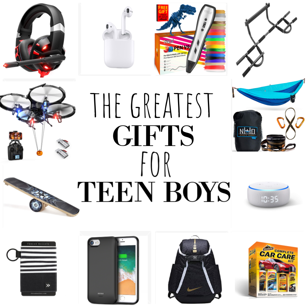 The Best Gifts for Teen Boys | Brooke Romney Writes
